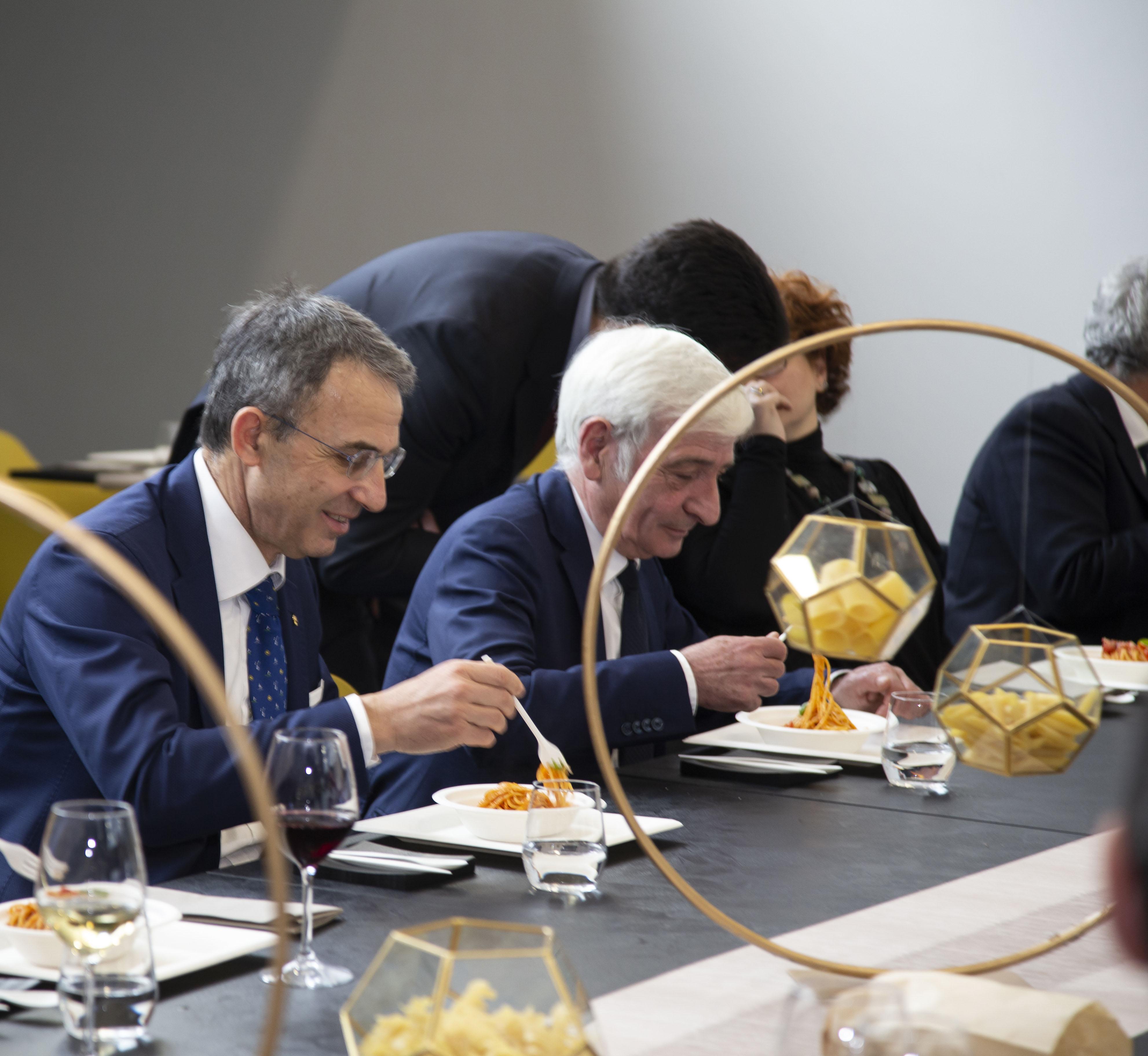 Il Ministro Costa al Pastificio Ducato D'Amalfi Gragnano